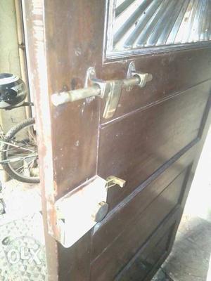 Main Door with metal grill & Lock for sale..Minor
