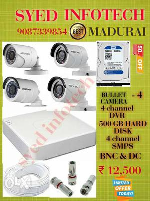 Syed infotech Hikvision turbo hd bullet camera -