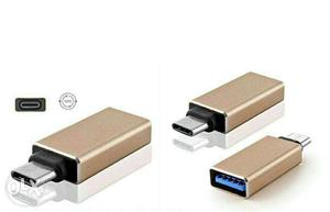 USB 3.1 Type C Male to USB 3.0 Female Metal OTG