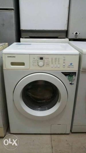White Bosch Front Load Washing Machine free home delivery