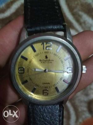 Polo Club Watch Of London Mrp Good Condition
