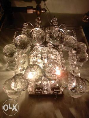 Crystal lights wall lights  with crystal bolls