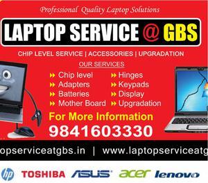 Laptop Service Center in Porur Chennai - HP, Dell, Lenovo