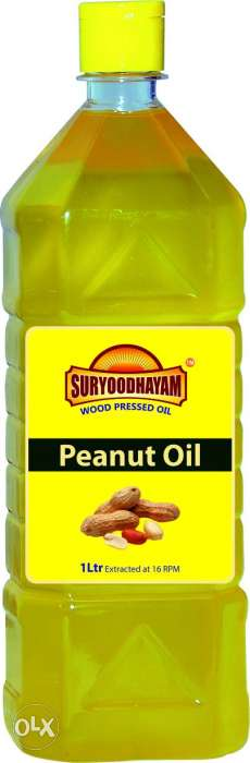 100% pure wood pressed groundnut oil