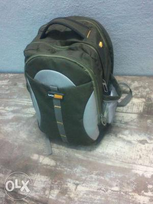 Black And Gray Backpack Carrier