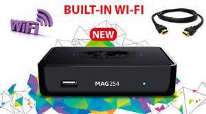 Infomir original MAG 254 W1 IPTV STB MAG254w1 made in