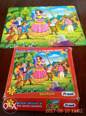 Snow White & The Seven Dwarfs Puzzle With Box and also