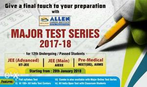 Hi friends.If anyone interested to buy Allen test