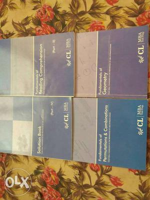 MBA entrance exam preparation book. Full of MCQs