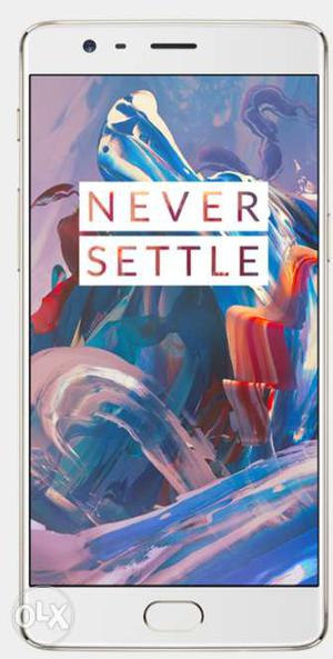 Oneplus3 Softgold 64GB not even a single scratch 12 months