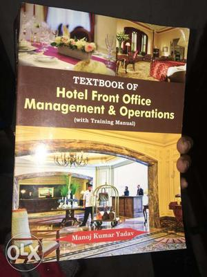 Textbook Of Hotel Front Office Management & Operations Book