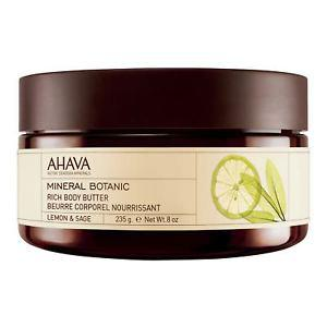AHAVA Mineral Botanic Rich Body Butter Lemon and Sage Body