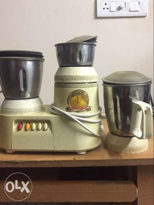Panasonic 3jar mixi grinder..in good condition