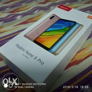 BOX PACK Redmi Note 5 Pro 4GB 64GB GOLD