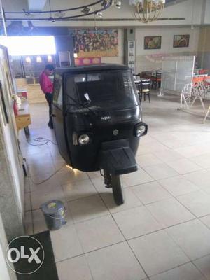 Black Electric Rickshaw