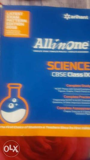 Blue And White All In One Science Book