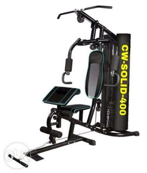 Brand New Cardioworld Home gym with 150lbs weight stack &