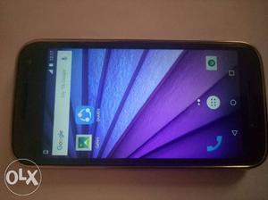 Motorola g3 good condition (4g) Lite used mobile