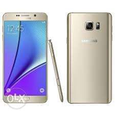 Samsung note 5 dual SIM 32gb phone and charger
