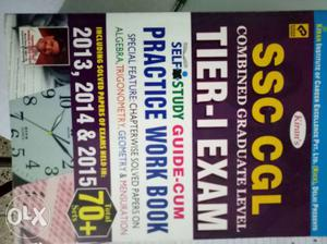 Ssc cgl practice book new condition