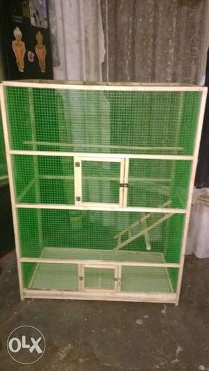 Hand made news cages available in kolathur. am a