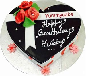 Heart shaped birthday cake @799 & free home delivery New