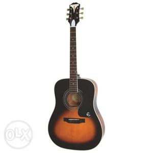 Brand new guitar acoustic ephiphone guitar With>Bag