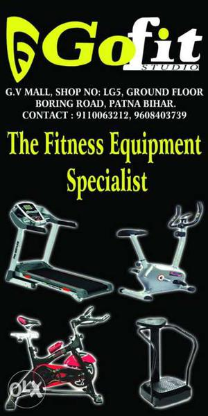 Brand new home use fitness equipment!!!