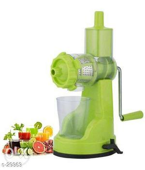 All kitchen accessories amazing juice maker only