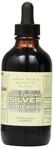 Amino Acid & Botanical Supply Liquid Colloidal Silver,