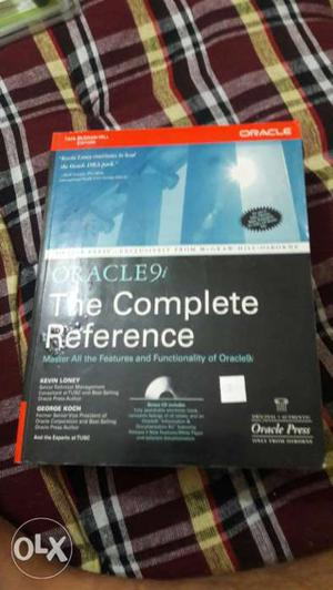 Oracle book with cd only 300 rs