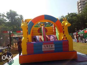 Rent/Hire Slide Bouncy for kids for party or event for 3