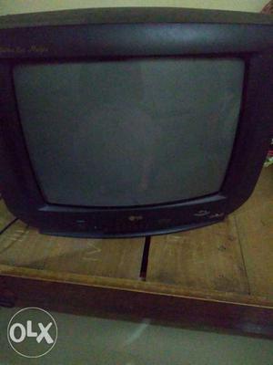 It's a LG Colour AV Stereo 23 system CRT TV.