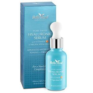 Belle Azul Pure Swiss Hyaluronic Acid Skin Serum + Vitamin C