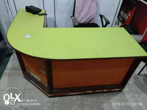 Wooden water proof counter urgent sale...call me
