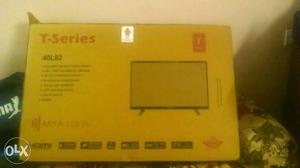 40 inch t-series led tv with samsung led panel in