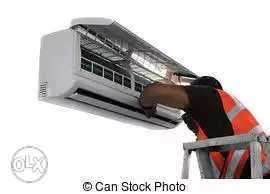 Air conditioner service 300 rupees