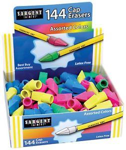 Sargent Art  Bulk Pack Assorted Colors 144 Cap