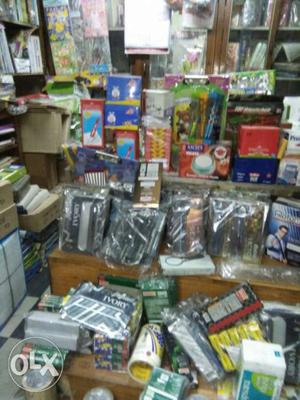 Selling stationary items along with furniture