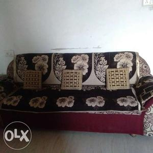 Three + two sofa set with cover