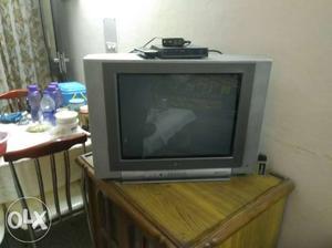 21 inch color tv gray colour