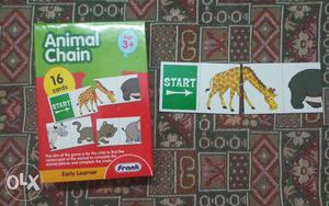 Animal Chain Flash Cards Box