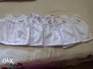 Baby's White dresses
