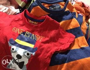 Branded kids wear available