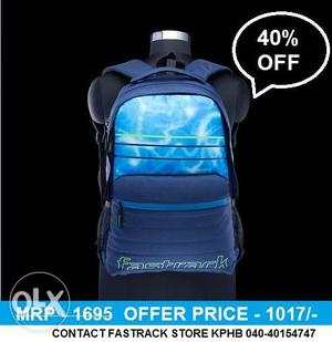 Fastrack College Bags (Showroom Piece)