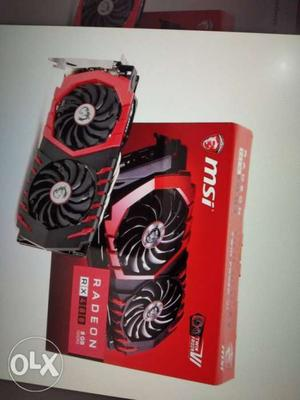MSI Radeon RX gb Gaming X graphics card very