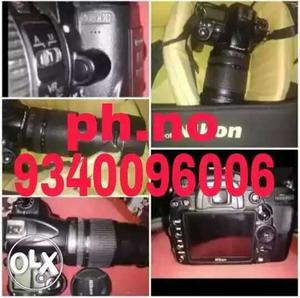 Nikon dslr for rent d lens mm