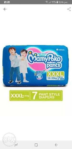Pampers Pant Style Daipers 3Xl size sealed pack.