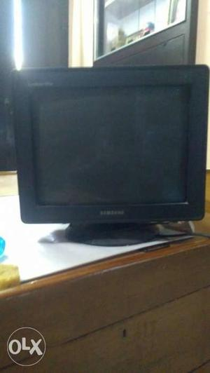 Samsung 15.6 inch CRT monitor, less used.