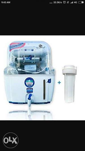White And Blue Aqua Water Purifier Screenshot